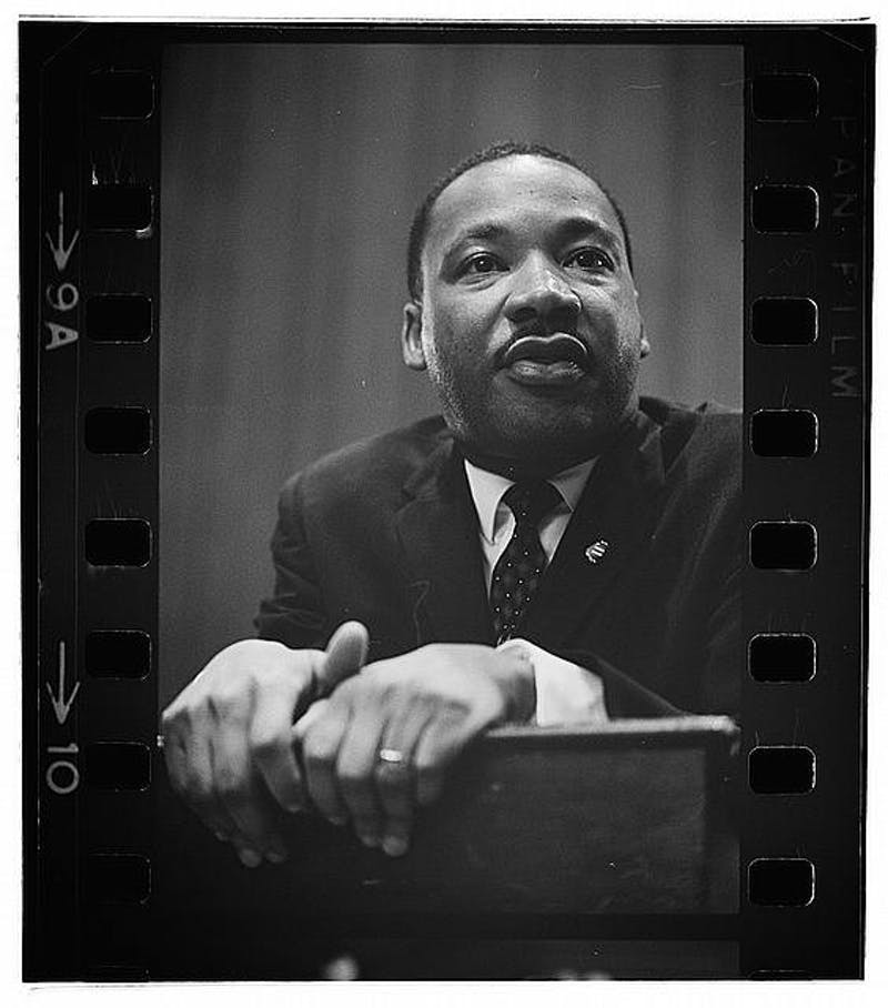 Martin Luther King, Jr. photographed by Marion S. Trikosko, 1964.