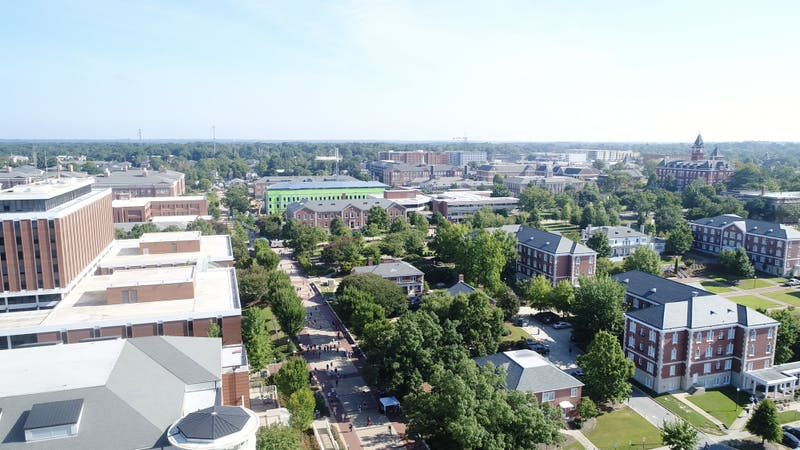 The Auburn University campus on Aug. 22, 2018.