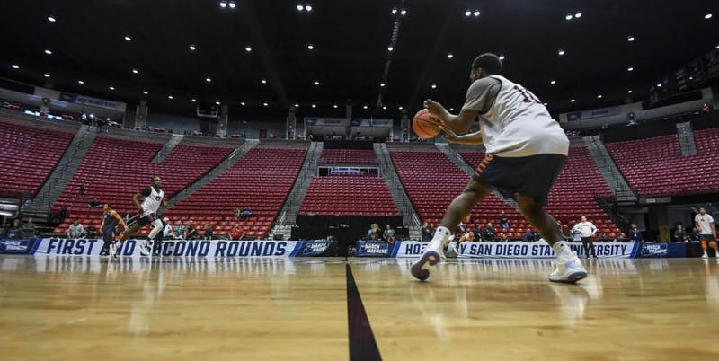 QUICK GALLERY: Auburn basketball practice 3.15.18