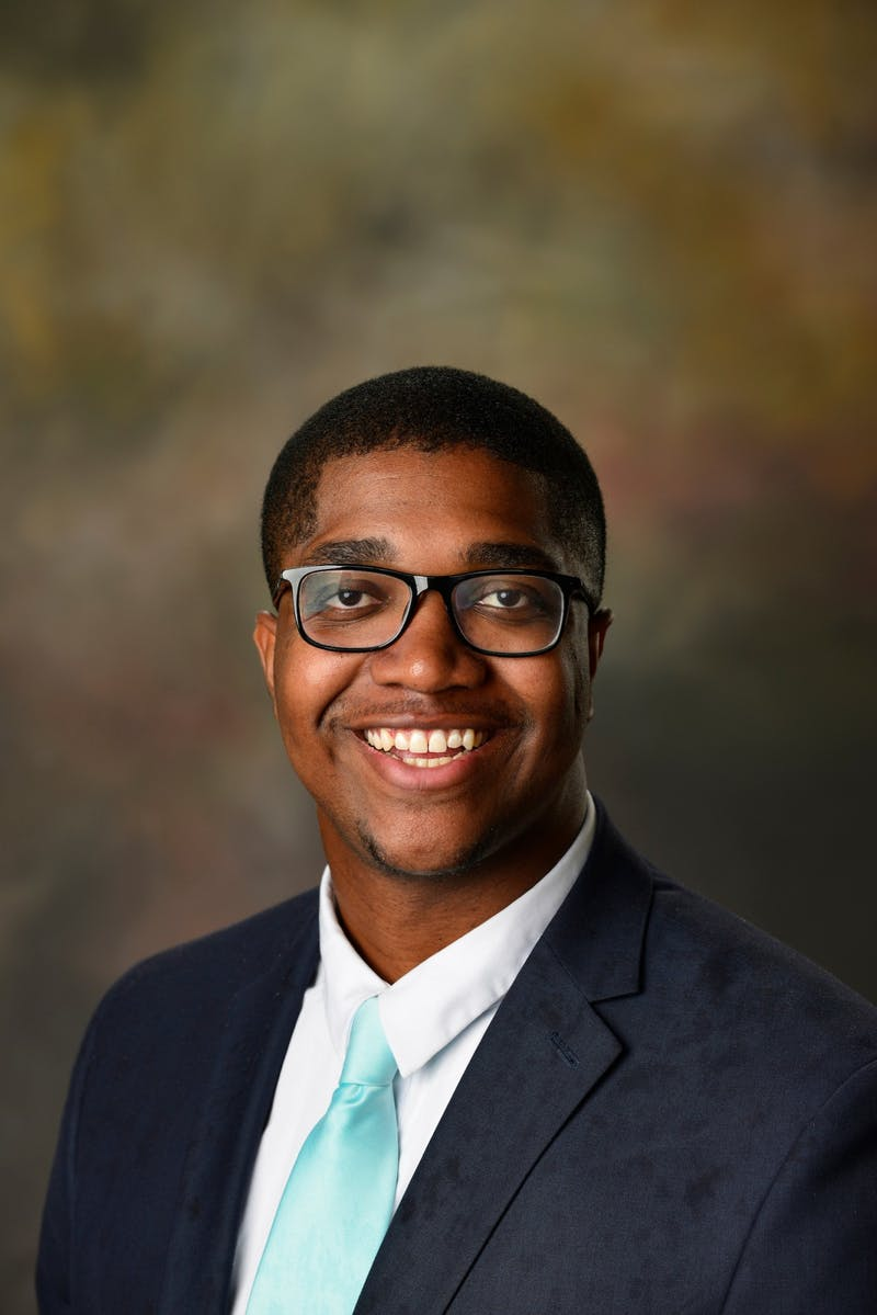 Jordan Bailey, junior in industrial and systems engineering, is running for SGA president.