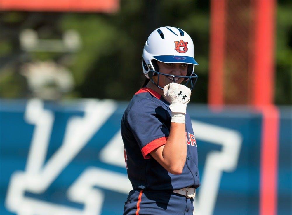 Auburn softball's Veach, McCrackin named All-SEC