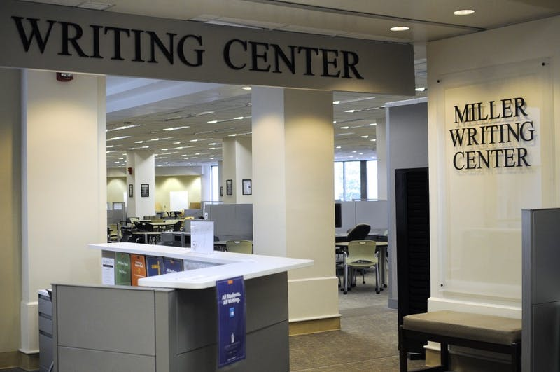 The Miller Writing Center at Ralph Draughon Brown Library at Auburn University on Thursday, Aug. 10, 2017, in Auburn, Ala.