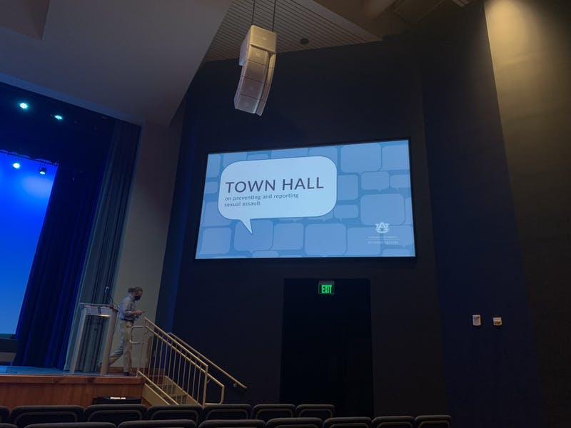 Auburn University hosts a Town Hall on Sexual Assault, Wednesday, Sept. 22, 2021.