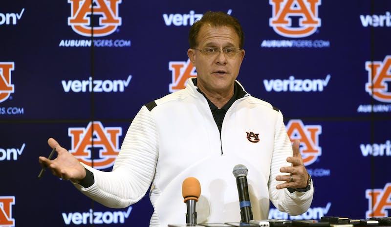 Auburn coach Gus MalzahnAU Football recruiting presser on Wednesday, Feb. 5, 2020 in Auburn, Ala. Todd Van Emst/AU Athletics