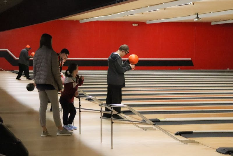 Special Olympics bowling tournament on Mar. 5, 2019, in Auburn, Ala.
