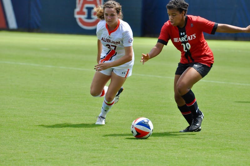 Auburn Women's Soccer vs. Cincinnati on Sunday, Sept. 9, 2018 in Auburn, Ala.