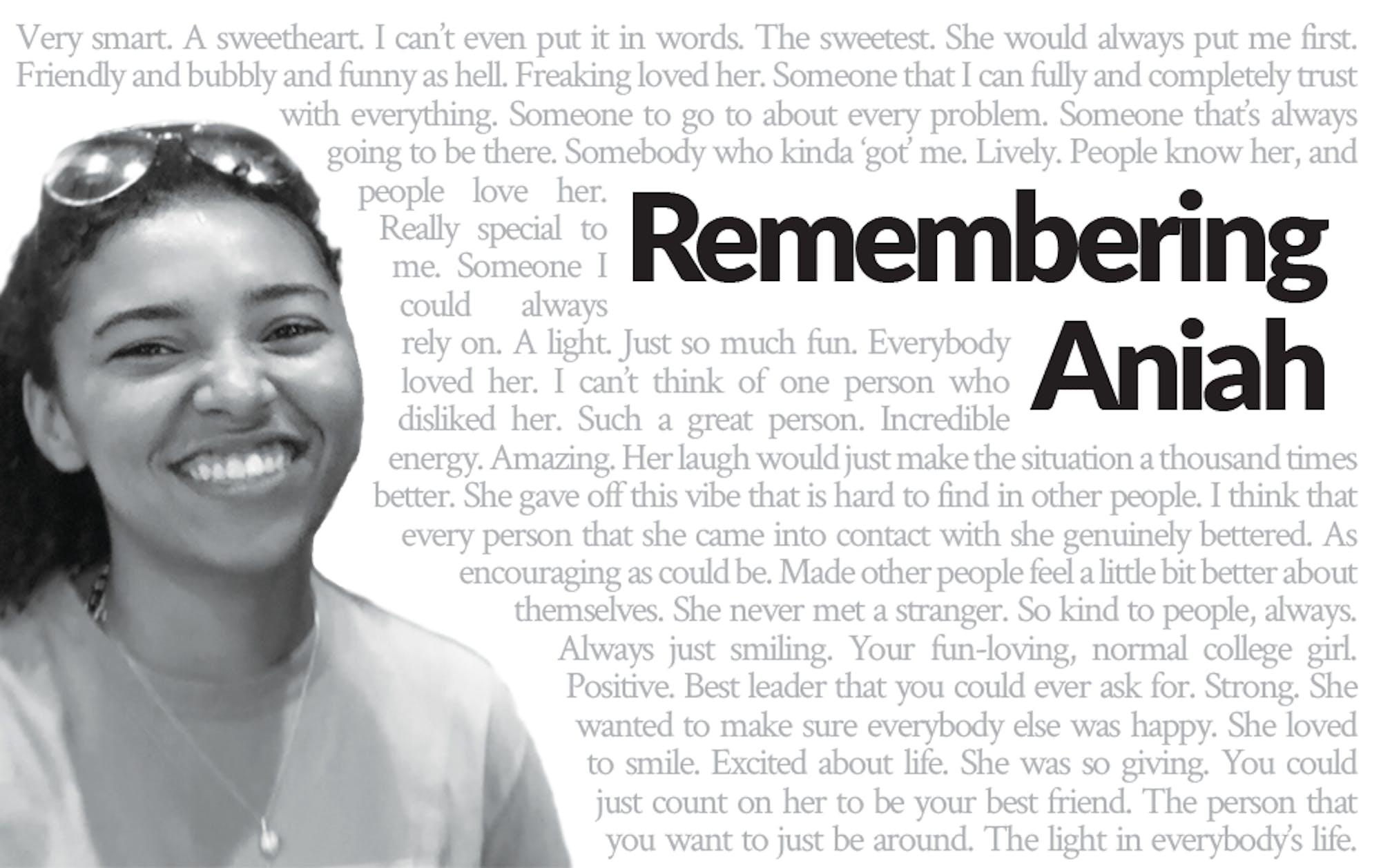 Remembering Aniah