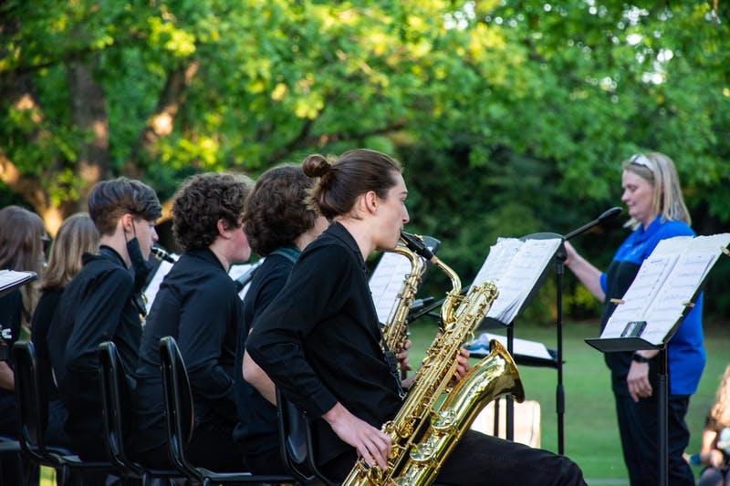 The City of Auburn Parks and Recreation will host a concert each Thursday of May, and each concert is open to the public.
