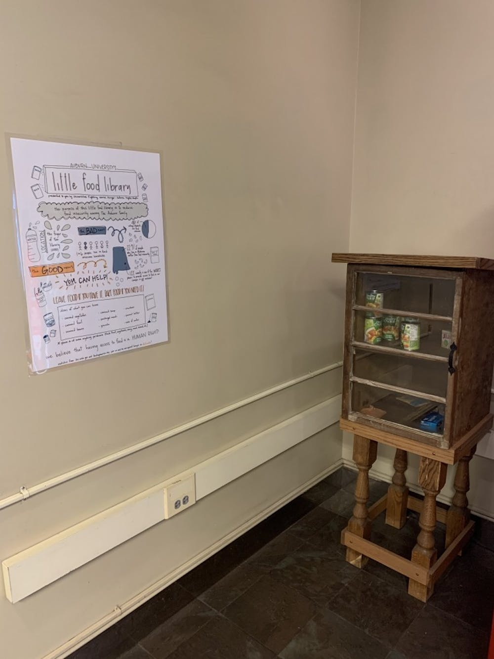 Little Food Library fights food insecurity on campus
