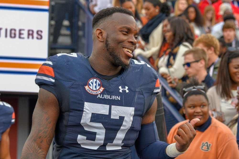 Auburn linebacker, Mobile native Deshaun Davis accepts Senior Bowl invite