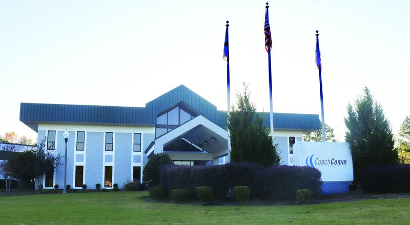 CoachComm headquarters located in Auburn, Ala.