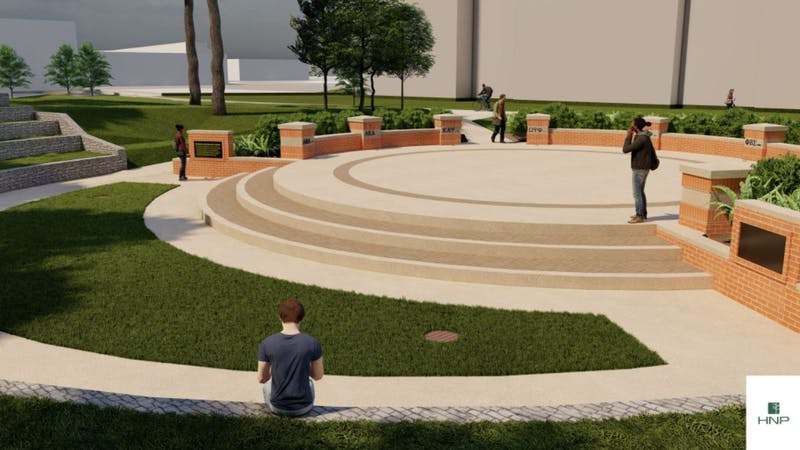 The NPHC Legacy Plaza will serve to physically commemorate the nine National Pan-Hellenic Council sororities that have existed on campus throughout Auburn's history.
