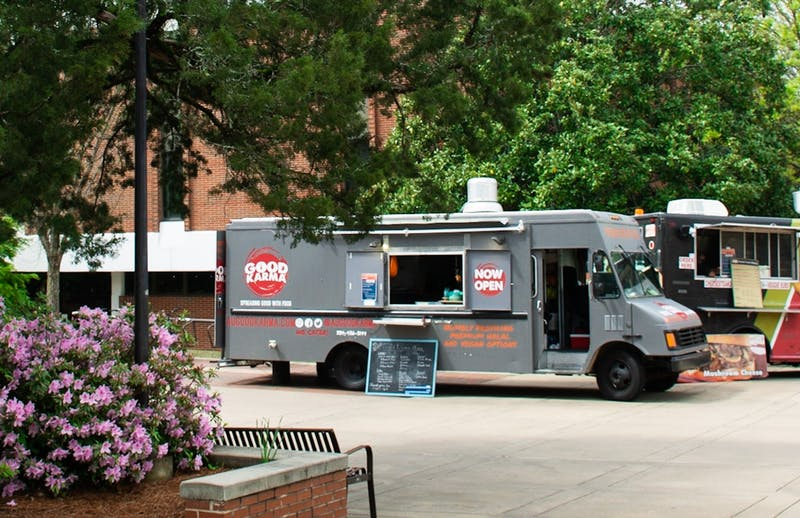 Food trucks have become a staple on Auburn's campus as another dining option for students.