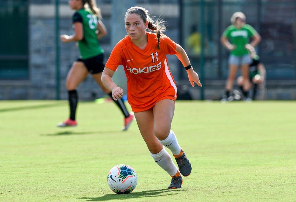 Virginia Tech transfer Grace Sklopan signs with Auburn soccer
