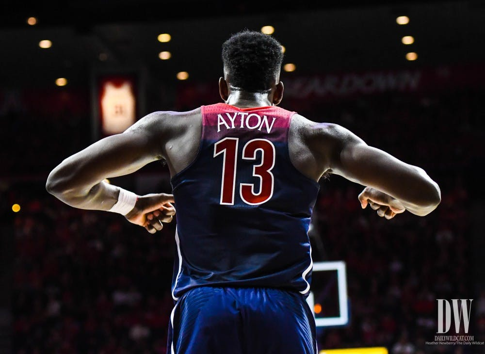 reputable site 8f80f 46474 Ayton makes strong first impression in Arizona debut - The ...