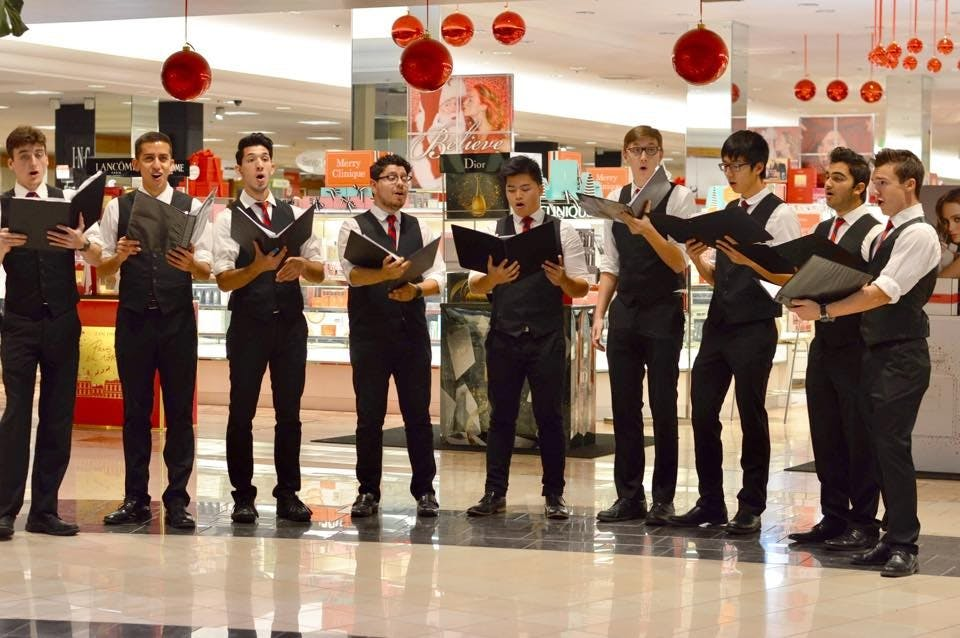 2016 Christma Caroling at Macy's