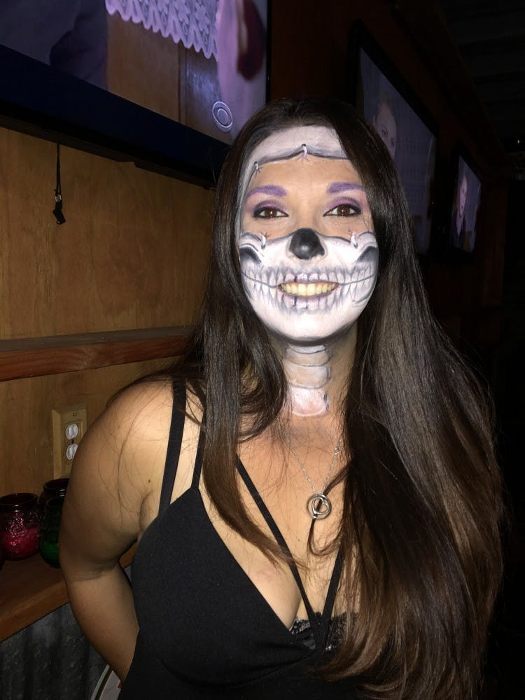 Face Painting A Symbol Of Unity At All Souls Procession The Daily