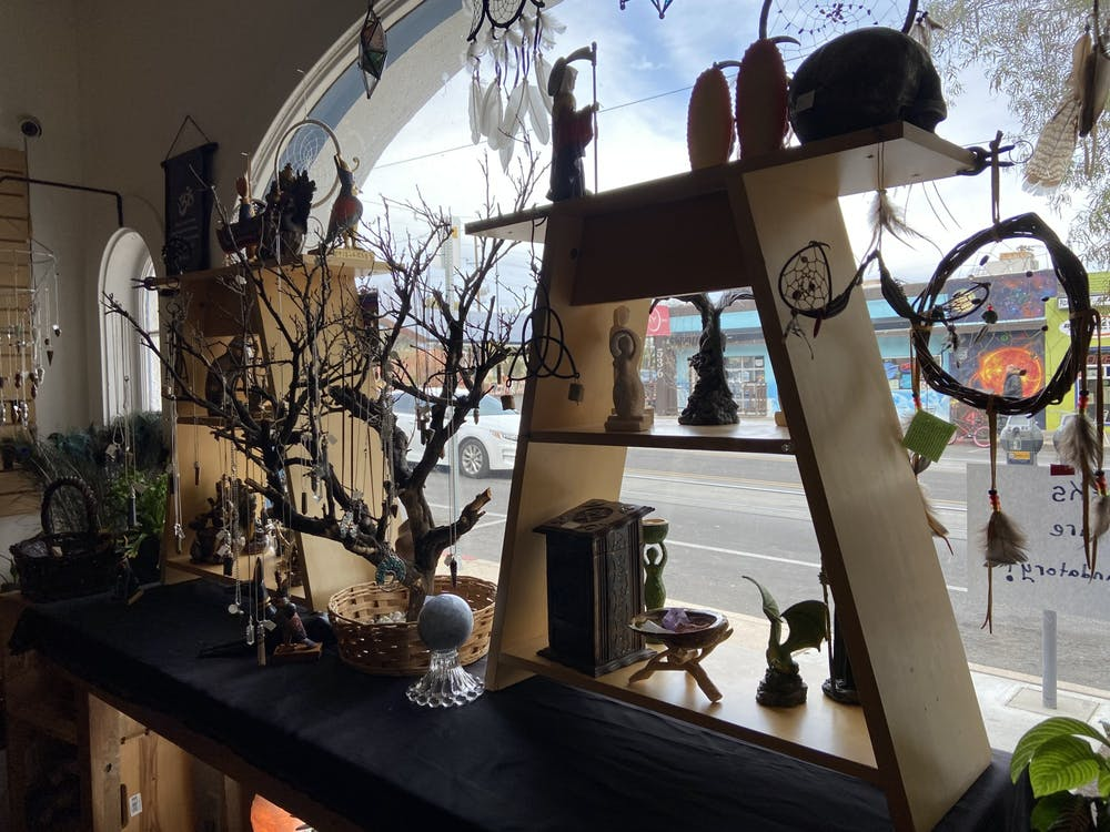 View looking out the front window of Celestial Rites Feb 1, 2021 Photo by Katiana Coste.JPG