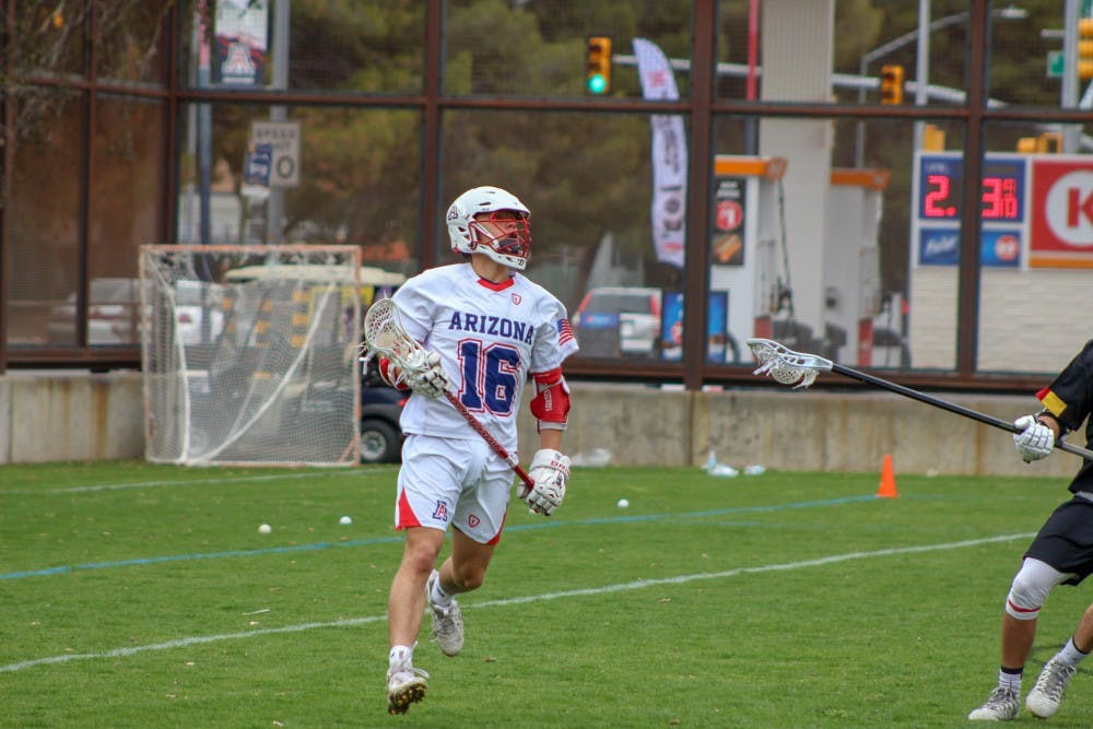 Q&A with men's lacrosse player Quinn Carrigan