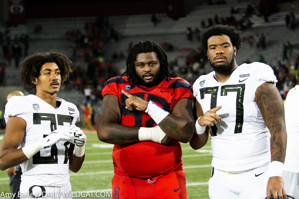 buy popular c95e9 8dc3a PJ Johnson declares for NFL Draft, how will Arizona replace ...