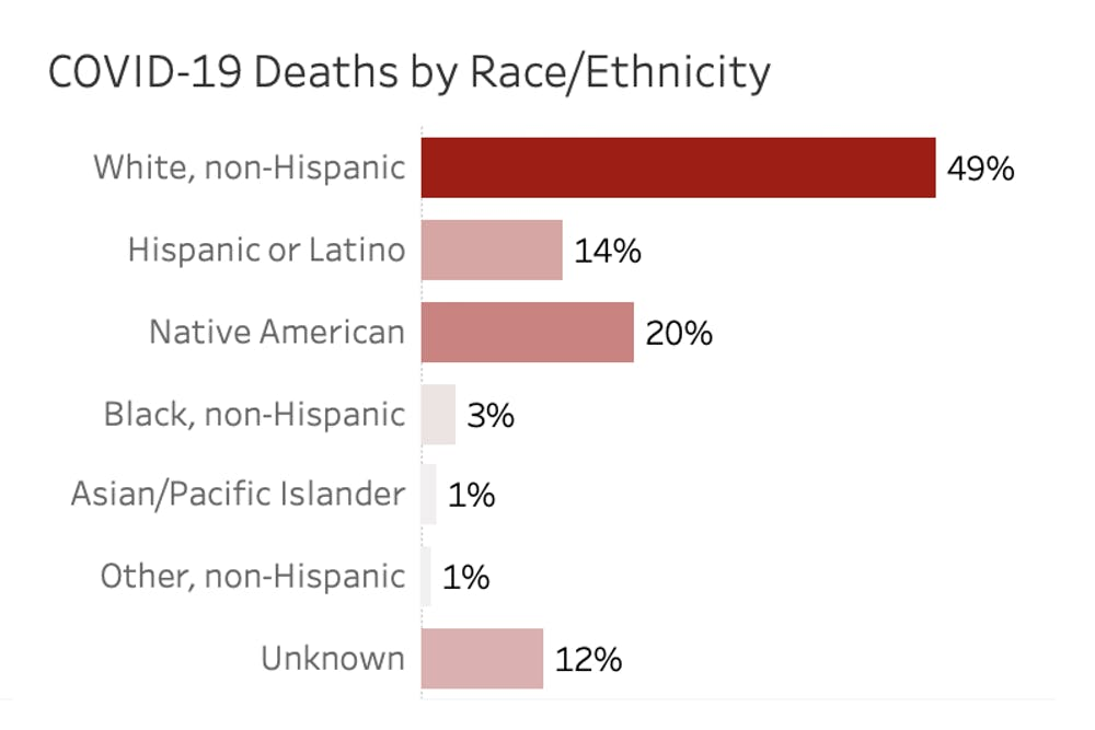 Covid 19 Death Rate Potentially Lower Disproportionately Affects Minority Groups The Daily Wildcat