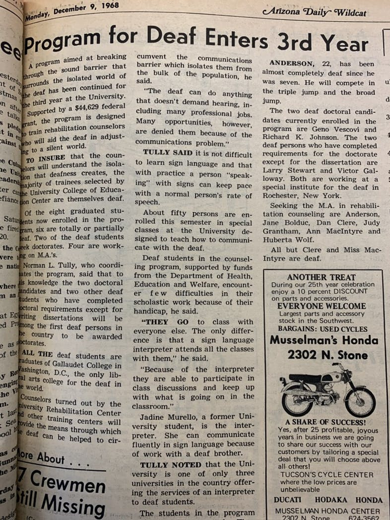 Article from 1968