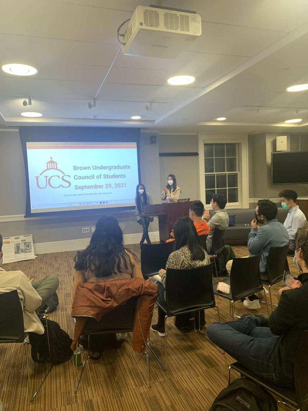 <p>UCS subcommittee initiatives include ensuring that dining halls meet the needs of students with dietary restrictions and promoting the use of composting in dining halls.</p><p><br/><br/></p>
