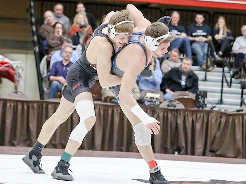 Handel_Wrestling-@-Binghamton-Cornell_CO_Brown-Athletics_