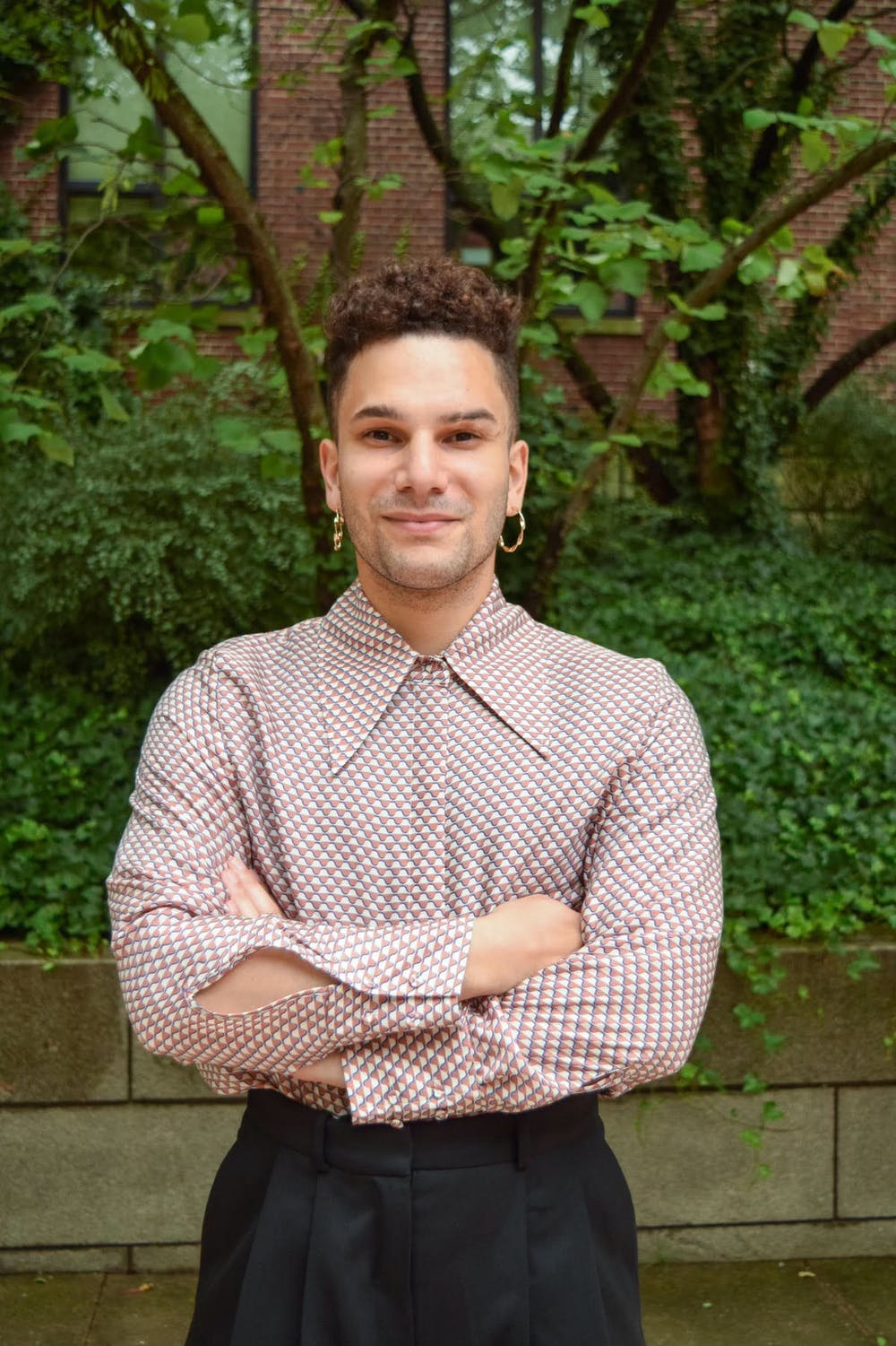 <p>Jacob's platform is centered on finding climate-centered solutions for issues like affordable housing for Rhode Island's homeless population.</p>