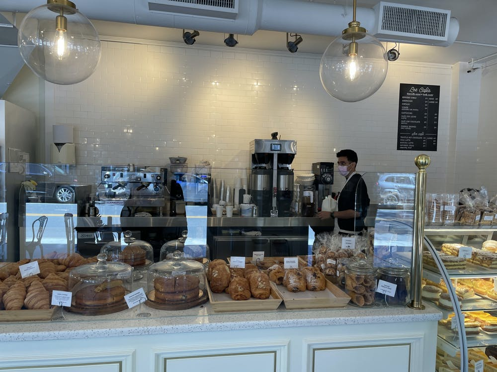 <p>Spanish baker Sergio Mendoza welcomes customers to family-owned Madrid European Bakery and Patisserie.<br/><br/><br/></p>