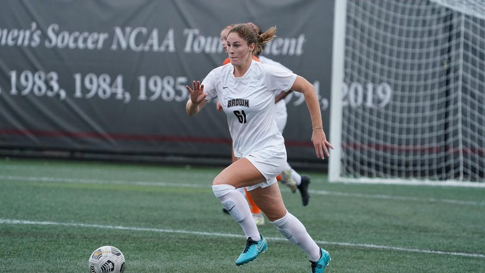 <p>In the 58th minute, Duran scored her first goal of the season off an assist from Maxwell to push the Bears' lead to two.</p>