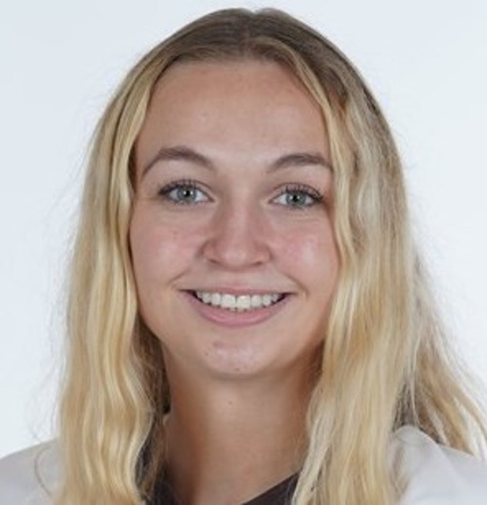 <p>Sheire hit 21 kills and blocked three shots in the game last Friday. This marked Brown's first victory against Yale in eight years.</p>