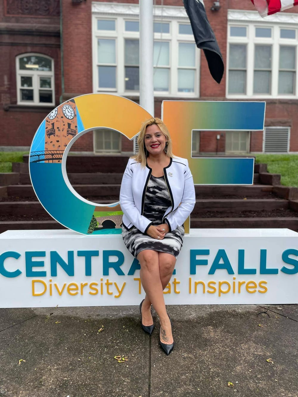 <p>Mayor Maria Rivera of Central Falls became the first Latina mayor in state history and the first female mayor in city history in January 2021.</p>