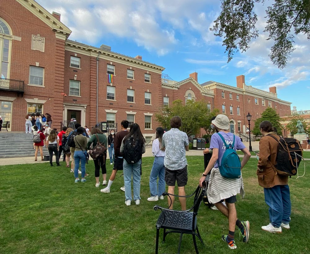 <p>The Chinese Students Association served around 300 slices of mooncake at the celebration on Tuesday.</p>