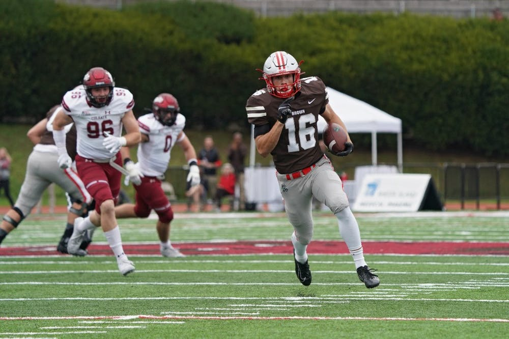<p>Brown's win over Colgate was a satisfying blowout after a close but ultimately disappointing loss to Bryant University last week.</p>