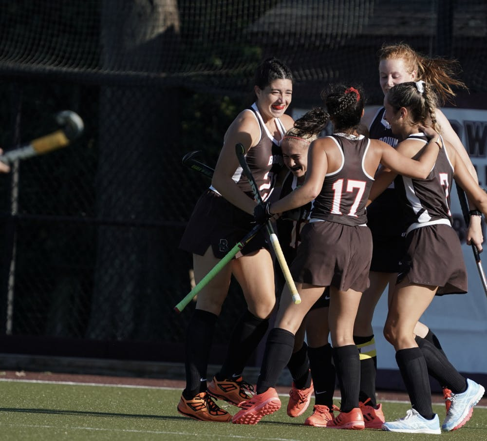 <p>Emma Rosen '22 scored the Bear's first goal in the first 45 seconds of the second quarter off an assist from Chloe Perel '23.</p>