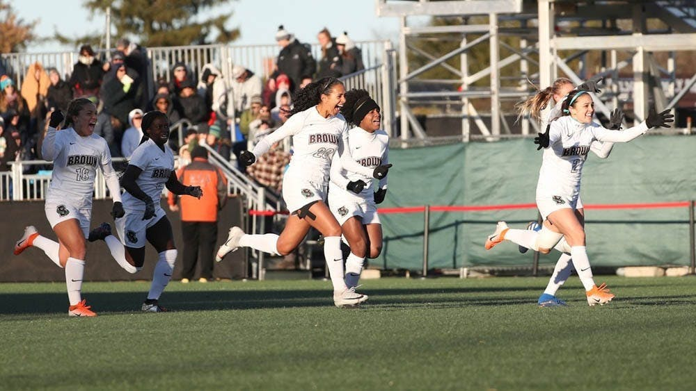 <p><strong>The Brown women's soccer team took the match with an early 2-0 lead, ultimately securing a 4-1 win over the BIg Green Sunday evening.</strong></p><p><br/><br/></p>