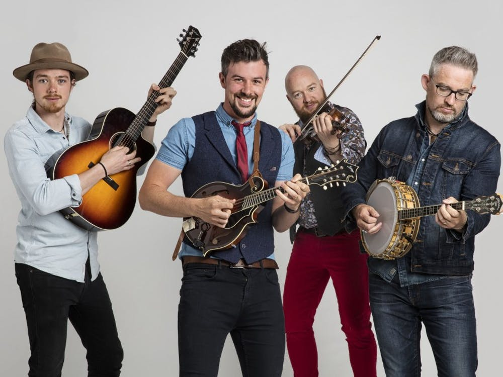 We Banjo 3 will travel to Ball State from Galway, Ireland, to perform Thursday in Emens Auditorium. We Banjo 3, Photo Provided