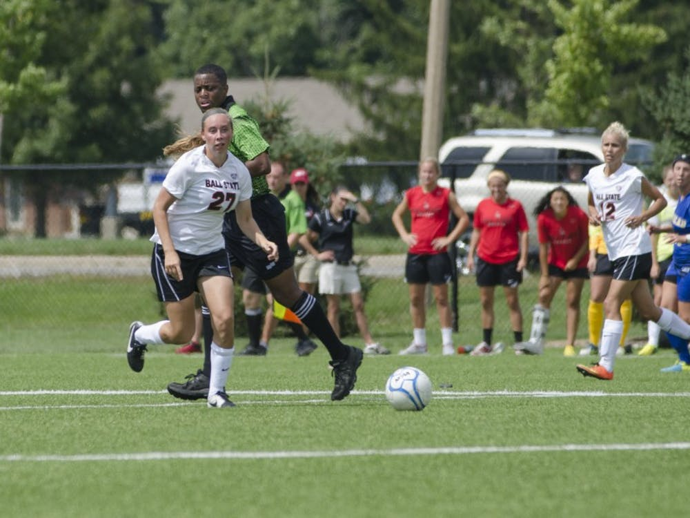 The Ball State soccer team faced Morehead Stateon Aug. 31 at the Briner Sports Complex. Ball State tied 2-2.