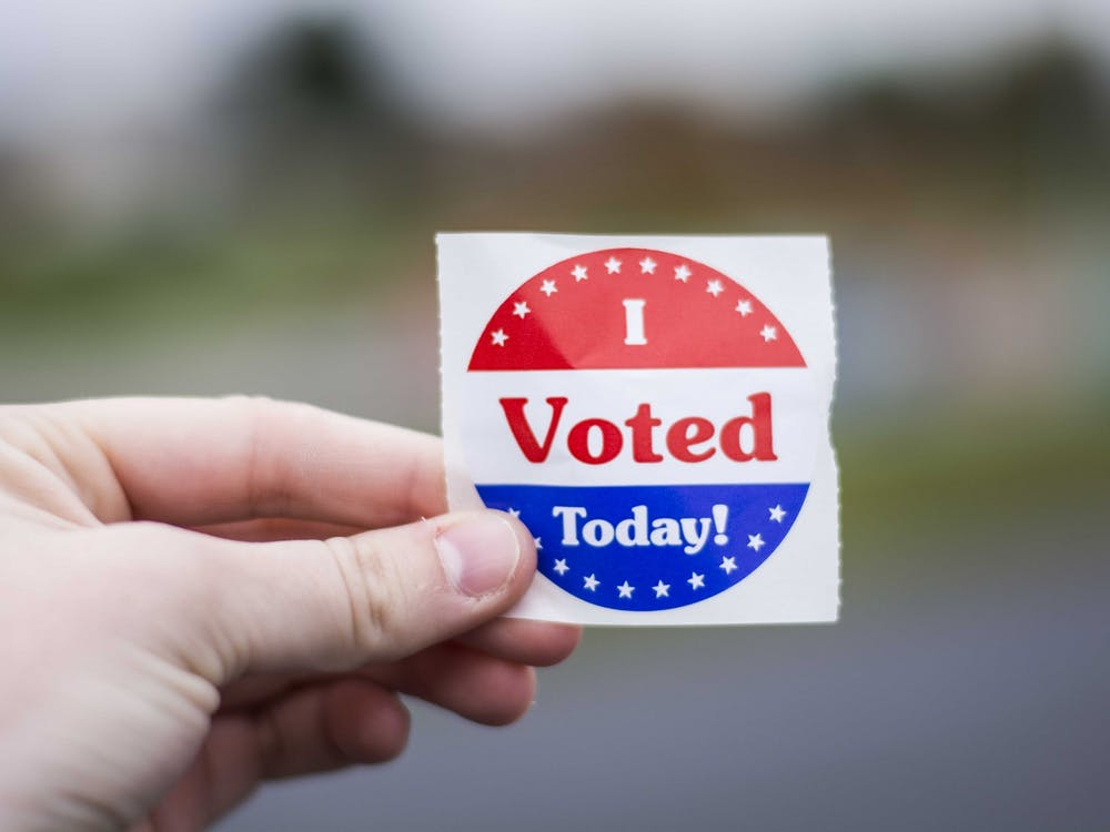 Indiana Gov. Eric Holcomb said he was in favor of pushing back Indiana's May 5, 2020, primary. Holcomb said he was concerned about the safety of county election officials, polling site workers and voters. Samantha Brammer, DN File