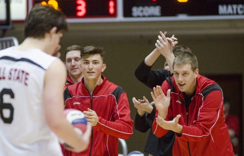 Ball State men's volleyball emulates championship team from 14 years ago
