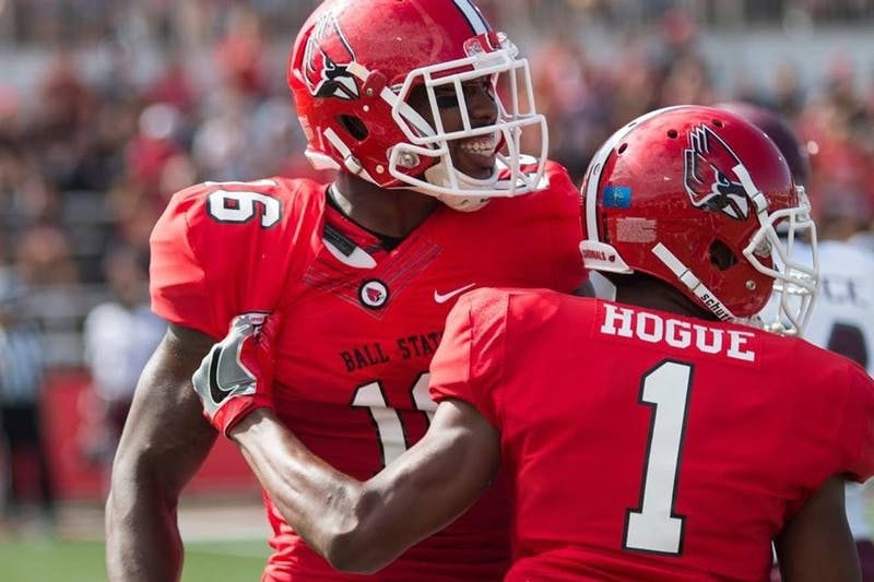 KeVonn Mabon, Ball State football's all-time receptions leader signed with the Tennessee Titans following the 2017 NFL Draft. He was one of five Ball State athletes who received an NFL opportunity.