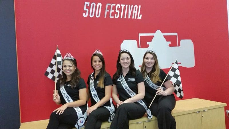 This year four Ball State students, Esther Bower, Amanda Hawkins, Emma Schaefer and Taylor Wong, have been awarded the title of 500 Festival Princess. Photo Provided