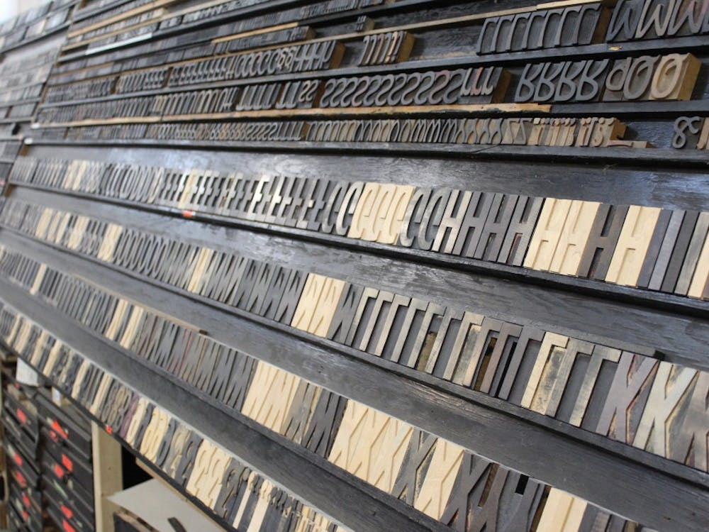 Tribune Showprint has one of the nation's largest collections of moveable type. The shop opened their doors to the public on Feb. 2.Brynn Mechem // DN