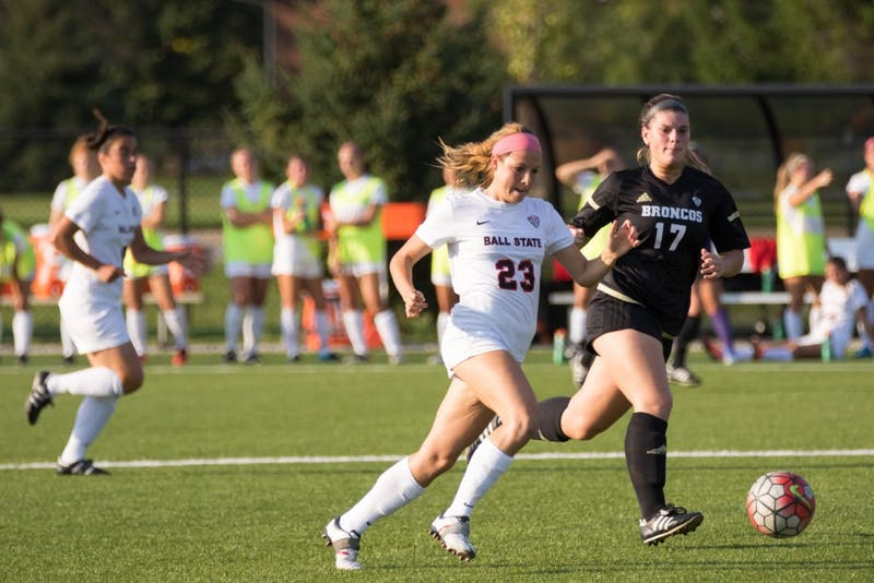 Soccer tops Western Michigan, maintains seven-game unbeaten streak