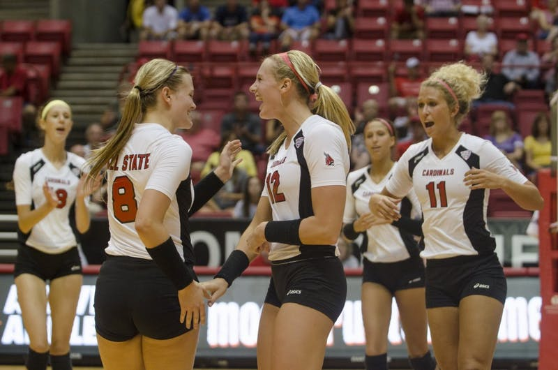WOMEN'S VOLLEYBALL: Cardinals move to 2-0 in VCU Inivite