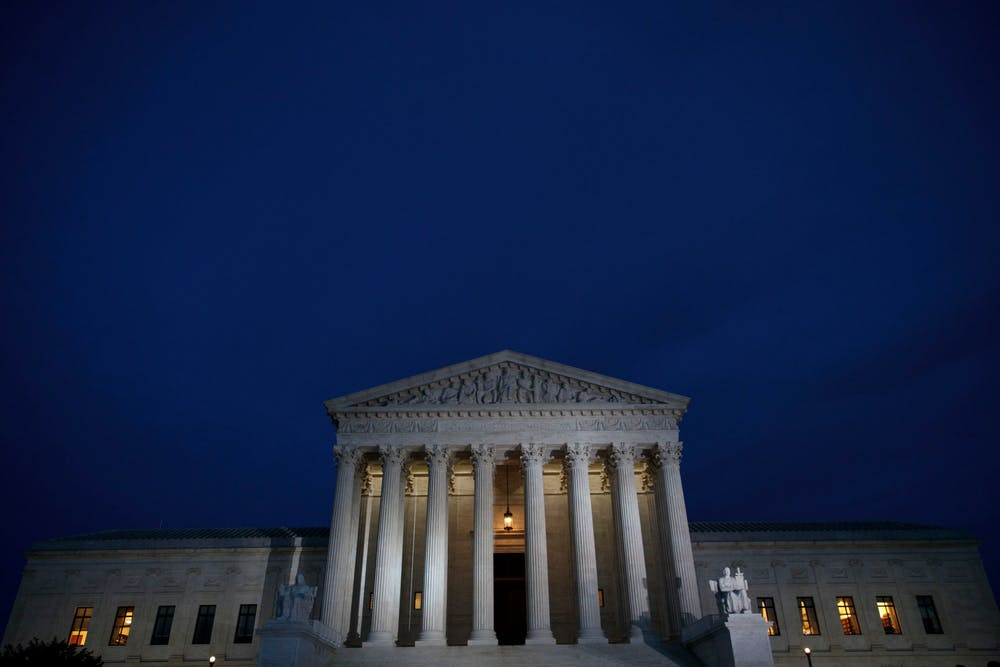 <p>The Supreme Court said Monday it will consider a case that could lead to a significant rollback of the Roe v. Wade decision. <strong>(Drew Angerer/Getty Images/TNS)</strong></p>
