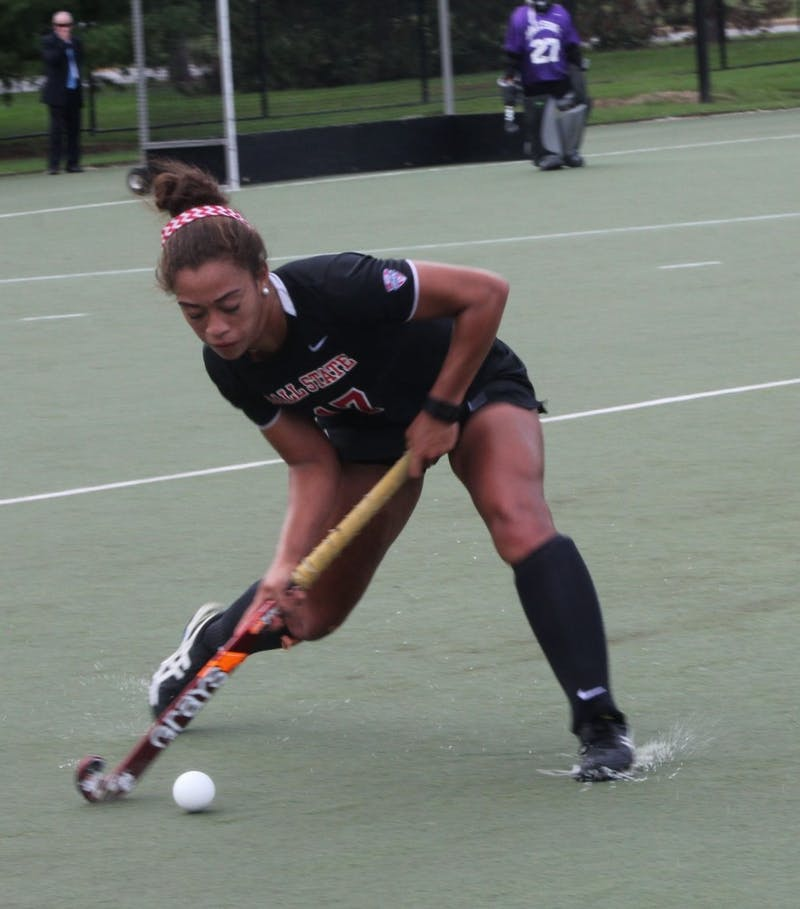 Ball State field hockey beats Central Michigan