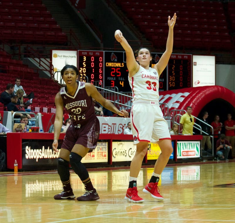 Ball State women's basketball: Monaco named MAC West Player of the Week after Purdue victory