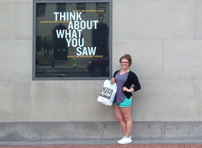 Intern Spotlight: Ball State student turns life-long passion into internship at Holocaust Museum